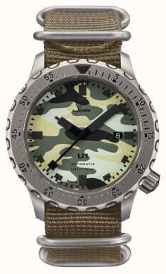 Sinn U1 Camouflage Divingwatch Submarine Steel 1010.0101