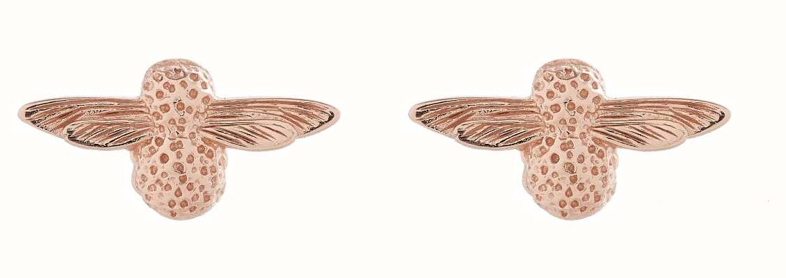 Olivia Burton | 3D Bee | Rose Gold | Stud Earrings | OBJ16AME23