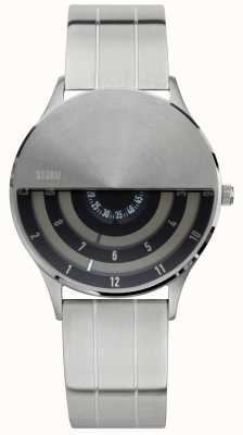 STORM | Mens | VLF | Black Disc Dial | Stainless Steel | 47443/BK