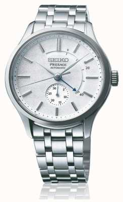 Seiko Presage Automatic 'Cocktail Time' Zen Garden White Dial Stainless Steel SSA395J1