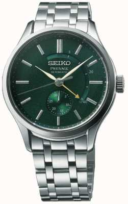 Seiko Presage Automatic 'Cocktail Time' Zen Garden Green Dial Stainless Steel SSA397J1