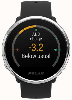 Polar | Ignite | Activity and HR Tracker | Black Rubber | S | 90071065