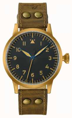 Laco | Saarbrucken Bronze| Pilot Watches | Leather 862085
