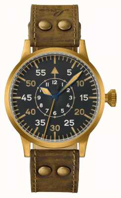 Laco | Dortmund Bronze | Pilot Watches | Leather 862088