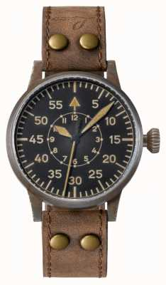 Laco | Leipzig Erbstuck| Pilot Watches | Leather | Hand-wound 861936