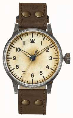 Laco Mechanical Handwinding | Florenz Erbstuck | Pilot Watches | Leather 861945
