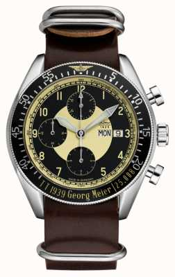 Laco | Mission Manx Limited Edition | Chronographs | Leather 861878