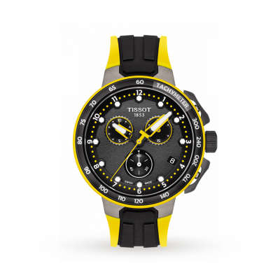Tissot | T-Race Cycling Tour De France 2019 | Black/Yellow Rubber T1114173705700