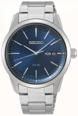 Seiko | Conceptual Series | Classic Solar | Mens | Blue Dial | SNE525P1