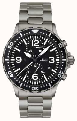 Sinn 757 The Duochronograph with captive bezel 757.010