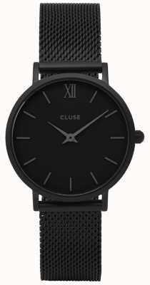 CLUSE | Minuit Mesh | Womens | Black Dial | Black Bracelet | CW0101203012