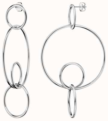 Calvin Klein | Clink | Polished | Stainless Steel | Drop Earrings | KJ9PME000100