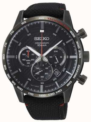 Seiko | Mens | Sports | Chronograph | Black | SSB359P1