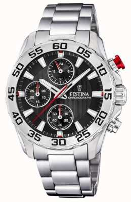 Festina | Womens/Junior's Stainless Steel Bracelet | Black Dial | F20457/3