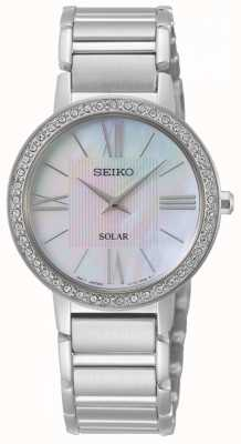 Seiko | Conceptual Series | Womens Solar | Crystal Set | SUP431P1