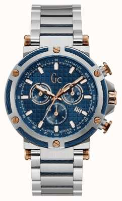 Gc Mens Urbancode | Chronograph | Stainless Steel | Blue Dial Y54003G7MF