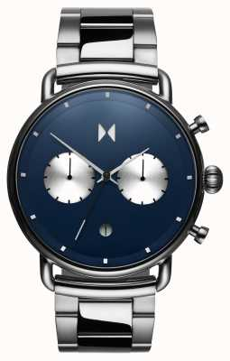 MVMT Blacktop Astro Blue | Stainless Steel | Blue Dial D-BT01-BLUS