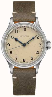 Longines | Heritage Military | Men's 38mm | Swiss Auto | Two Straps L28194932