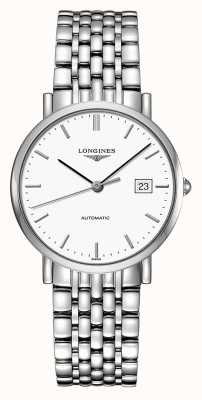Longines | Elegant Collection | Men's 37mm | Swiss Automatic | L48104126