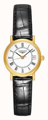Longines Présence Les Grandes Classique Ladies Gold Plated L42776110