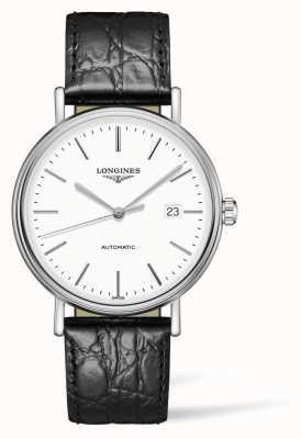 Longines Présence Les Grandes Classique Black Leather Strap L49224122