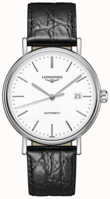 Longines Présence | Swiss Automatic | Black Leather Strap L49224122