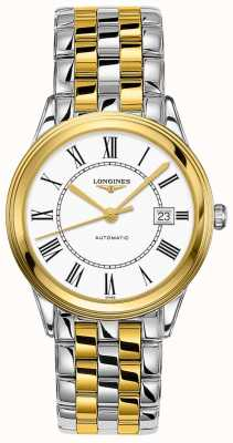 Longines | Flagship | Men's 38.5mm Two Tone | Swiss Automatic L49743217