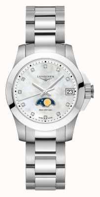 Longines | Conquest Sport | Women's | Moon Phase | Swiss Quartz | L33804876