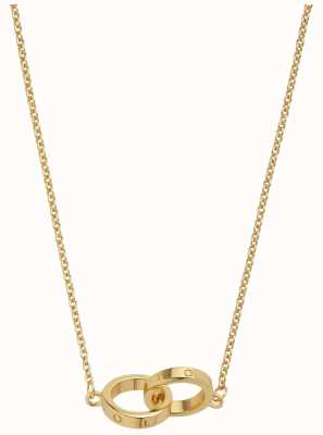 Olivia Burton | The Classics | Gold | Interlink Circle | Necklace | OBJ16ENN56