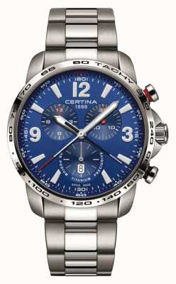 Certina | Ds Podium | Blue Chronograph Dial | Stainless Steel C0016474404700
