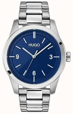 HUGO #create | Stainless Steel Bracelet | Blue Dial 1530015