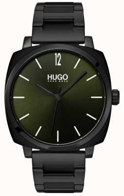 HUGO #OWN | Black IP Bracelet | Black Dial 1530081
