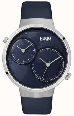 HUGO #travel | Blue Leather Strap | Blue Dial 1530053