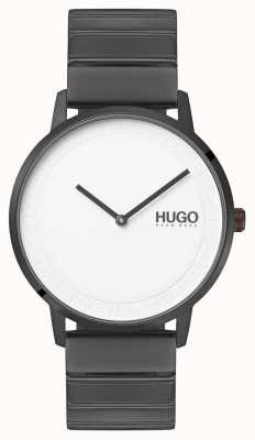 HUGO #echo | Grey IP Bracelet | White Dial 1520022