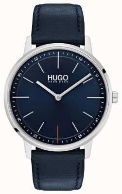 HUGO #exist | Blue Leather Strap | Blue Dial 1520008