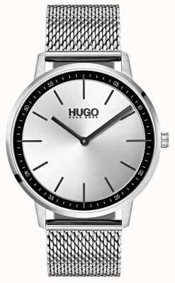 HUGO #exist | Stainless Steel Mesh | Silver Dial 1520010