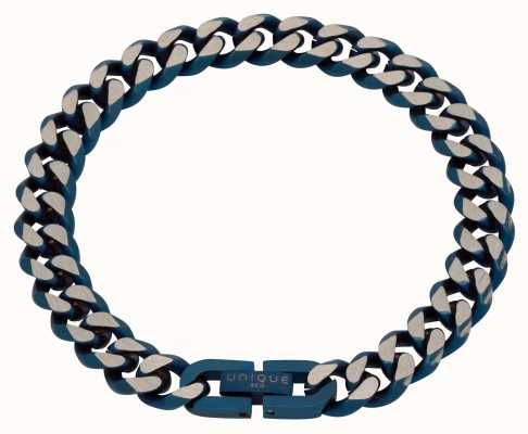 Unique & Co Stainless Steel | Matte Blue IP Plating | 9mm | Bracelet LAB-130/21CM