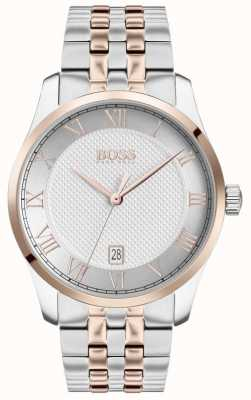 BOSS Master | Two-Tone Stainless Steel | Silver Dial | 1513738