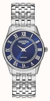 Roamer | Women's | Sonata | Stainless Steel Bracelet | Blue Dial | 520820-41-45-50