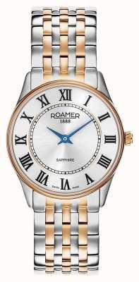Roamer | Women's Sonata | Two-Tone Stainless Steel | White Dial | 520820-49-15-50