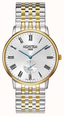 Roamer | Men's Galaxy | Two-Tone Stainless Steel | White Dial | 620710-47-15-50