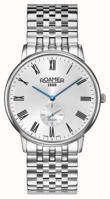 Roamer | Men's Elements | Stainless Silver Bracelet | Black Dial | 650810-41-55-50