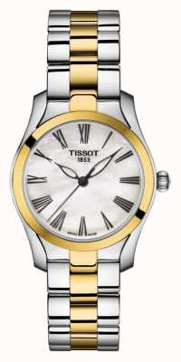 Tissot | T-Wave |Women's Two-Tone Bracelet | Mother Of Pearl Dial | T1122102211300