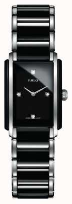 Rado | Integral Diamonds | High-Tech Ceramic | Square Dial | R20613712