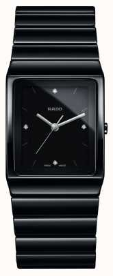 Rado | Ceramica Diamonds | Square Dial | Ceramic Bracelet | R21700702