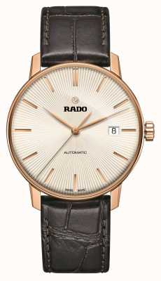 Rado Coupole Classic Automatic Brown Leather Strap Watch R22861115