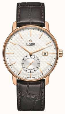 Rado Coupole Classic Automatic Brown Leather Strap Watch R22881025