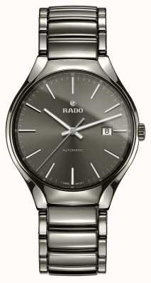 RADO True Automatic Plasma High-tech Ceramic Grey Dial Watch R27057102