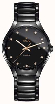Rado | True Automatic Diamonds | Plasma High-tech Ceramic R27056732