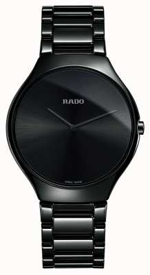 Rado | True Thinline | High-tech Ceramic | Black Dial R27741182
